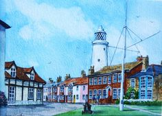 Irene Hart - SOUTHWOLD. SUFFOLK - Artists & Illustrators - Original art for sale direct from the artist