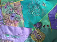 Detail of shawl.