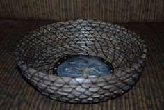 Pine Needle Basket Spooky Tree by GailsBasketry on Etsy
