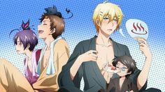 Servamp : Tetsu, Hugh, Mahiru, Kuro, Misono & Lily