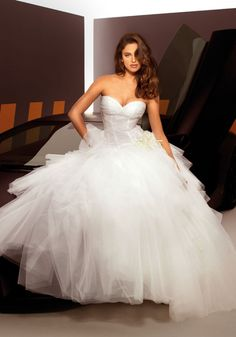 Beautiful Irina Shayk for Alessandro Angelozzi Couture 2013 #weddingdress #weddingoutfit
