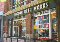 Boston Beer Works.  Great local craft brewery & eatery across from Fenway.