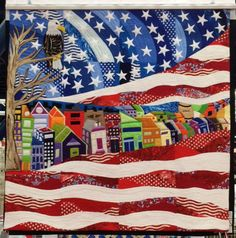 """America"" by Cynthis Wismann. Photo by Inspired by Fabric."