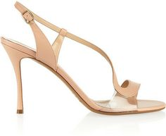 Nicholas Kirkwood Leather and PVC sandals