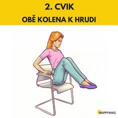 6 efektivních cviků jak zhubnout boky, zatímco sedíte na židli Gentle Yoga, Fett, Health And Beauty, Exercise, Workout, Sports, Police, Health, Beauty