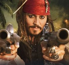 What can audiences expect in the fifth 'Pirates' movie, other than Johnny Depp as the irascible Jack Sparrow? Producer Bruckheimer says the new film maintains the previous movies' mixture of high-seas adventure and supernatural horror. Captain Jack Sparrow, Jake Sparrow, Jack Sparrow Wallpaper, Disney Pixar, John Depp, Here's Johnny, Pirate Skull, Davy Jones, Pirate Life