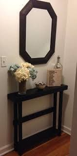 Image result for front of the door table apartment