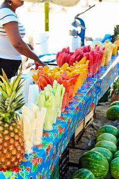 Fruta picada