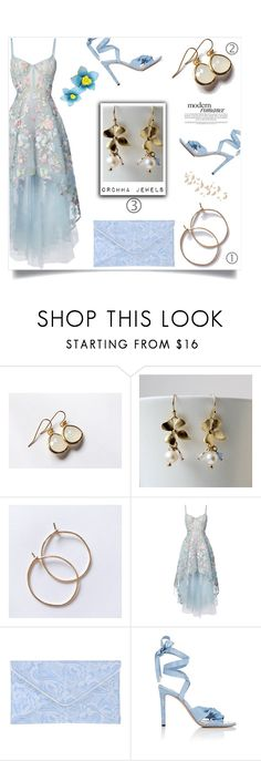 """""""Get Your Hoops on! """" by samra-bv ❤ liked on Polyvore featuring Notte by Marchesa, Michael Kors and Altuzarra"""