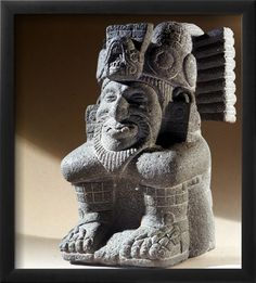 The Two Lord, Ometecuhtli Who Was Both Male and Female and the Supreme Creative Deity