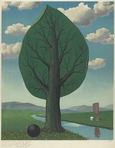 #Jupiter René Magritte (Lessines 1898-Bruxelles 1967), La Géante, 1967, Lithographie couleur sur papier, 635x520mm, Musées royaux des Beaux-Arts de Belgique. Géante gazeuse 목성형 행성