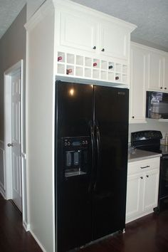 DIY built in refrige