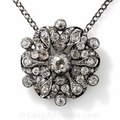 Antique Victorian Diamond Pendant