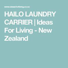 HAILO LAUNDRY CARRIER   Ideas For Living - New Zealand