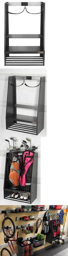 Other Golf Equipment 181155: New Golf Bag Caddy Storage Equipment Organizer Rack Bags Clubs Accessories Shoes BUY IT NOW ONLY: $139.82 #GolfEquipment #CoolGolfEquipment
