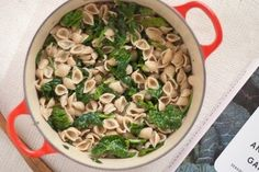 Orecchiette With Spinach & Gorgonzola Sauce   22 Easy One-Pot Meals With No Meat