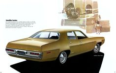 1972 Plymouth Satellite Four Door Sedan