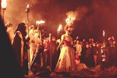 Beltane Fire Festival by Louise Spence, via Flickr