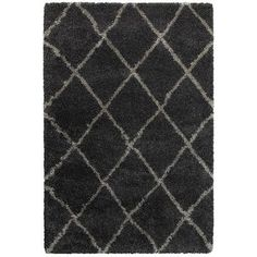 "Varick Gallery Sayer Charcoal/Gray Area Rug Size: Runner 2'3"" x 7'6"""