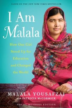 This one if for the Kids! A Mighty Girl indeed.  I Am Malala Youth Edition on www.amightygirl.com