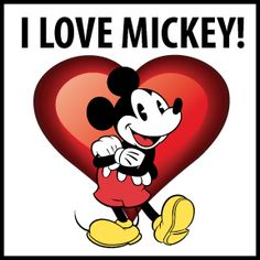 yes I do... I love Mickey how about you!?!?!