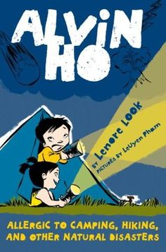 #camping #thegreatoutdoors #series #silly #chapterbook Great for ages 5-9. When Alvin's father takes him camping to instill a love of nature, like that of their home-town hero Henry David Thoreau, Alvin makes a new friend and learns that he can be brave despite his fear of everything.