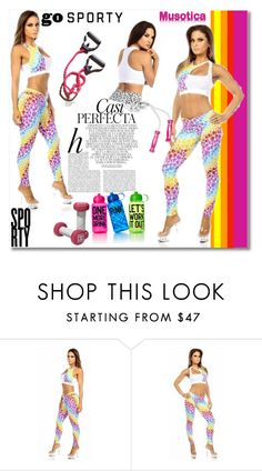 """""""Go sporty!"""" by mellie-m on Polyvore featuring moda, Whiteley i Victoria's Secret PINK"""