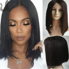 100% Peruvian Full Lace Wig Glueless Human Hair Lace Front Bob Wig Short African American Bob Wigs With Baby Hair For Black Women Lace Wig Glue Wigs For Men From Daisyhumanhairwig, $101.37| Dhgate.Com