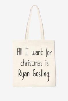 Sac en toile Ryan Gosling