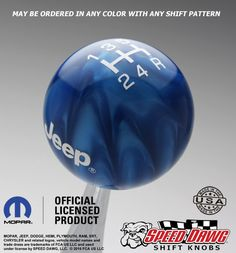 Speed Dawg Shift Knobs - Jeep Shift Knob with Pattern, $64.95 (http://www.speeddawg.com/jeep-shift-knob-with-pattern/)