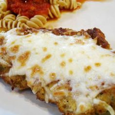 I made this last night and even my picky, non-Italian husband loved it! Simple Chicken Parmesan Allrecipes.com