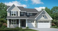 Introducing the Calloway, the latest addition to our Landmark Collection of homes!  (Calloway Elevation C)