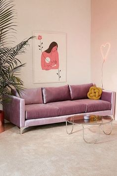 "Lavender is here to give ""Millennial Pink"" a break, elbowing the light Pepto shade off of 2018's stage and replacing it with a soothing purple. The color has been popping up everywhere, from living room sectionals to dining room walls, and splashed across carefully-picked prints and folded merino wool blankets. While it's a fun color to work with, some people might be wondering how to use it in their space without reverting back to their 13-year-old selves."