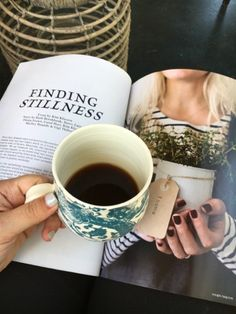 my first mother's day, coffee, mingle magazine