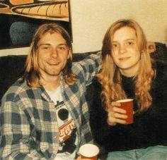 Kurt and sister Kim, December 1989, Washington