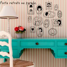 Reciclar decorar é vintage adesivos para decorar