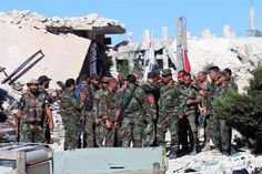 SYRIA CONFLICT - Rebels regain control of Palestinian refugee camp north of Aleppo