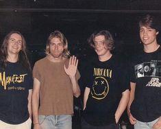 A forum dedicated to preserving the history and legacy of the band Nirvana. Nirvana Kurt Cobain, Music Aesthetic, Aesthetic Grunge, Stevie Wonder, Nirvana Frases, Nirvana Lyrics, Donald Cobain, Ga In, Trouble