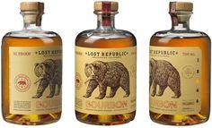 Auston Design Group - Lost Republic Bourbon #packaging #design packaging design blog World Packaging Design Society│Home of Packaging Design│Branding│Brand Design│CPG Design│FMCG Design