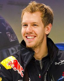 Germany: Sebastian Vettel driver for Red Bull 2012 team