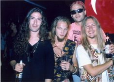 Layne Staley with Alice in Chains during an September 1990 record promotion in Los Angeles. (Photo by Jeffrey Mayer/WireImage) Photo: Jeffrey Mayer, Getty Images / WireImage Alice In Chains, Gerard Way, Mike Inez, Mike Starr, Grunge, Jerry Cantrell, Mad Season, Layne Staley, Tatoo