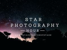 How to Take Photos of Stars What you'll need: A Camera (preferably a DSLR) A tripod (or something... #nightphotography