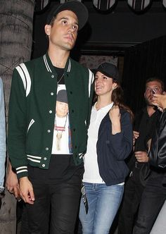 May 9, 2017: Lana Del Rey spotted alongside G-Eazy leaving The Avenue Nightclub in Hollywood #LDR