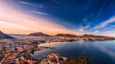 View over Bergen from Sandviksbatteriet