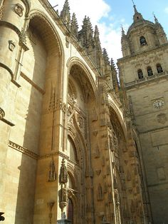 New Cathedral in Salamanca - Castile and León, Spain