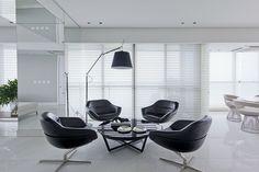 a área social  |  sala de estar