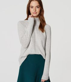 Primary Image of Mockneck Sweater