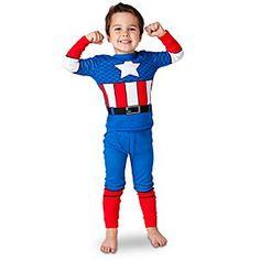 Deluxe Captain America PJ Pal for Boys
