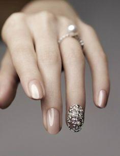 wedding nail♡