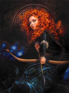 If You Could Change Your Fate, Would You?   Merida by Heather Theurer